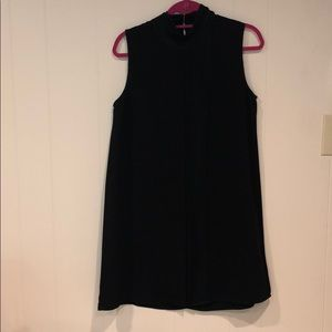 FREEWAY black dress with pleats down middle